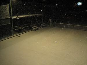 雪のエステステニスパーク